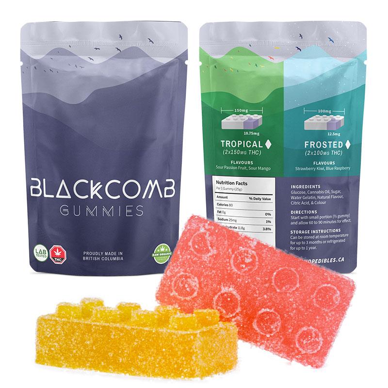 Blackcomb Tropical Gummies – 2 x 150mg THC