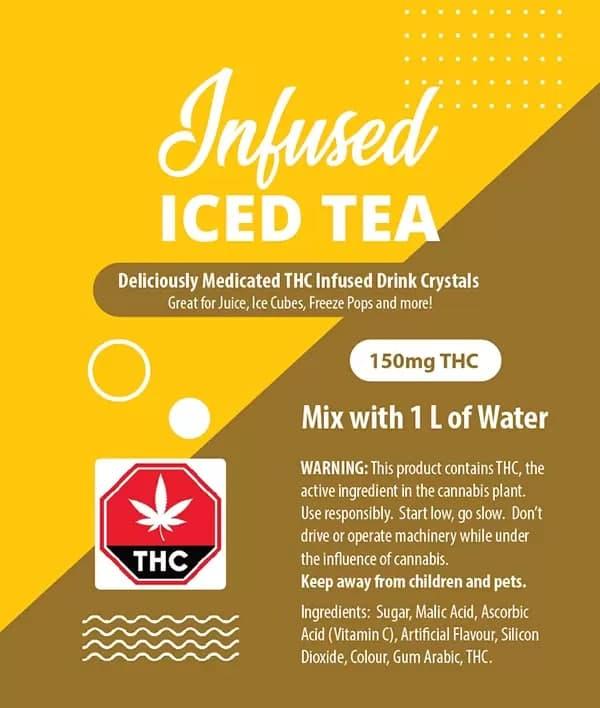 Iced Tea Crystals - 150mg THC