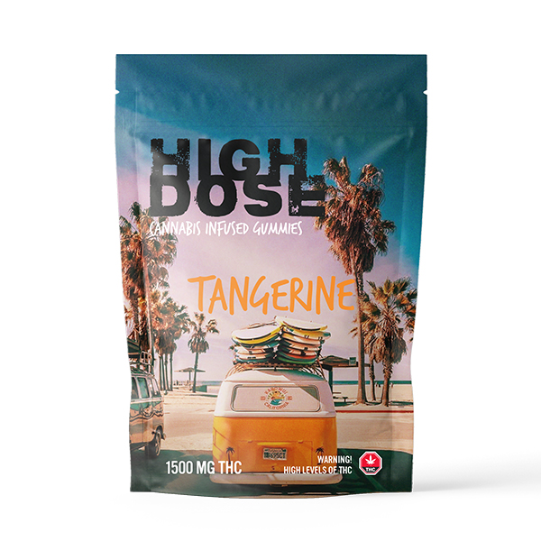 High Dose - Cannabis Infused Gummies - 1500mg THC
