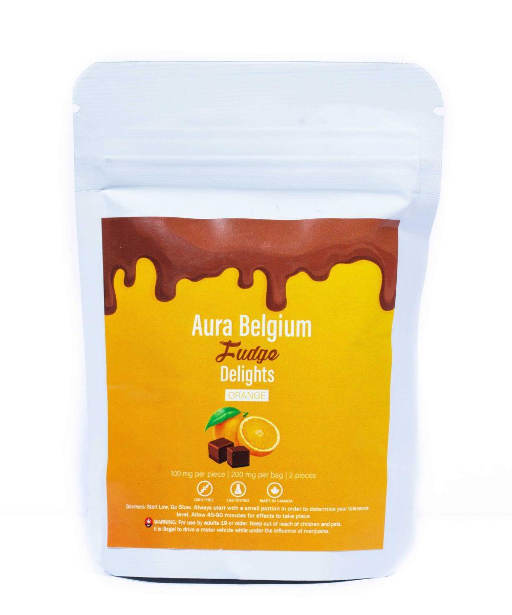 Aura Belgium Chocolate Fudge  - 200mg