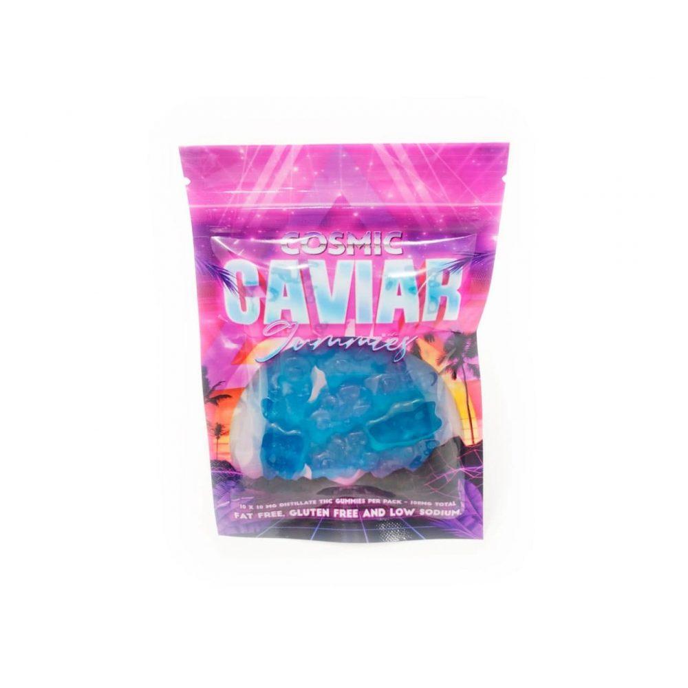 Cosmic Caviar - THC Infused Gummy Bears (100mg)