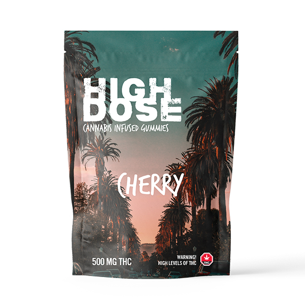 High Dose - Cannabis Infused Gummies - 500mg THC