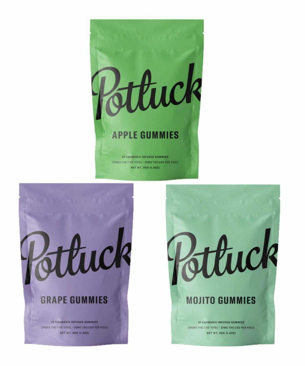 Potluck Gummies - 200mg THC
