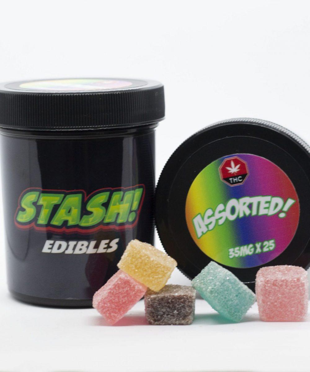 Stash! Edibles - THC Gummies 875mg (25 x 35mg)