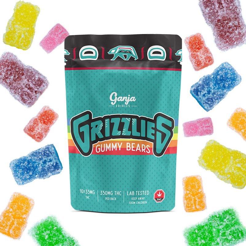 Grizzlies - Sour Gummy 350mg THC