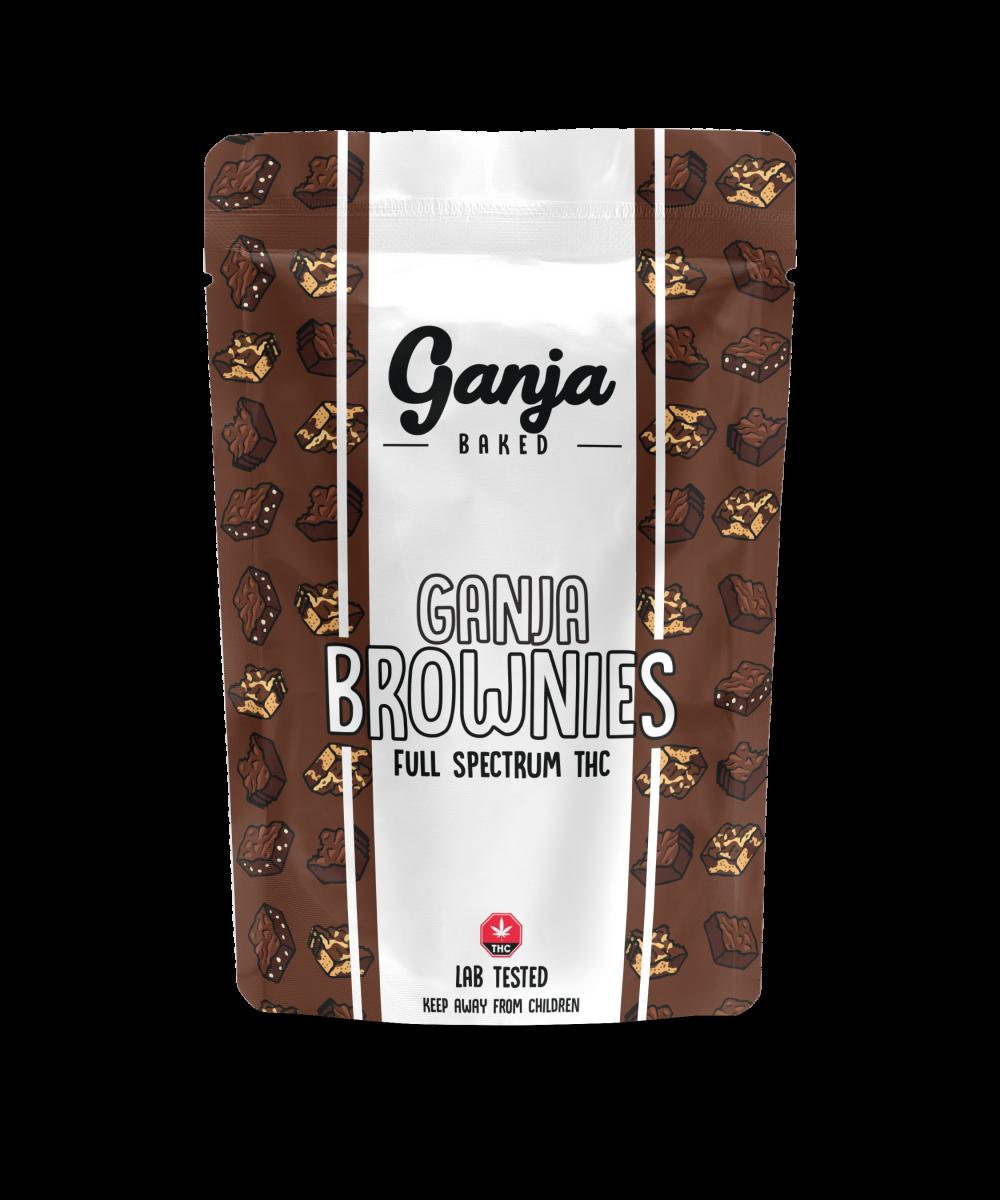 Ganja Baked - Fudge Brownie 200mg